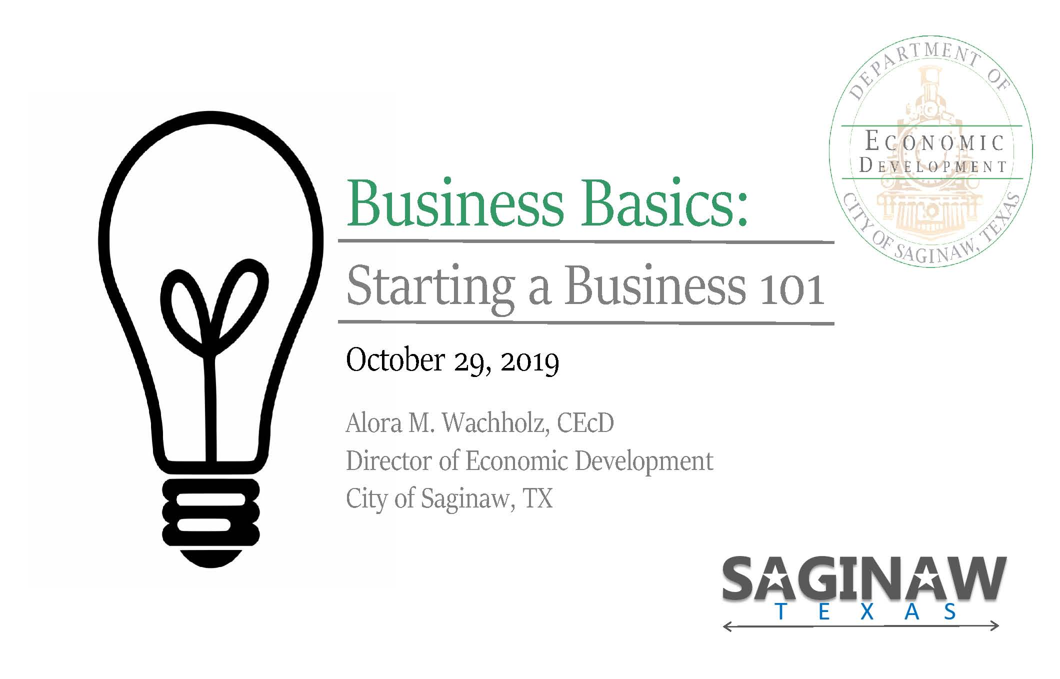 Business Basics- Starting a Business 101_Page_01