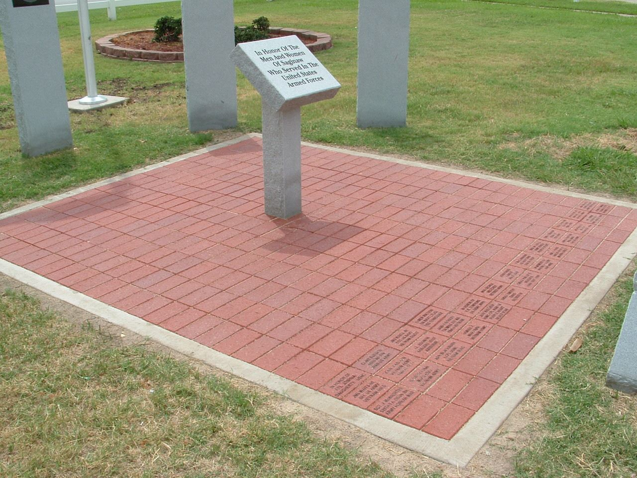 Veterans Memorial Bricks
