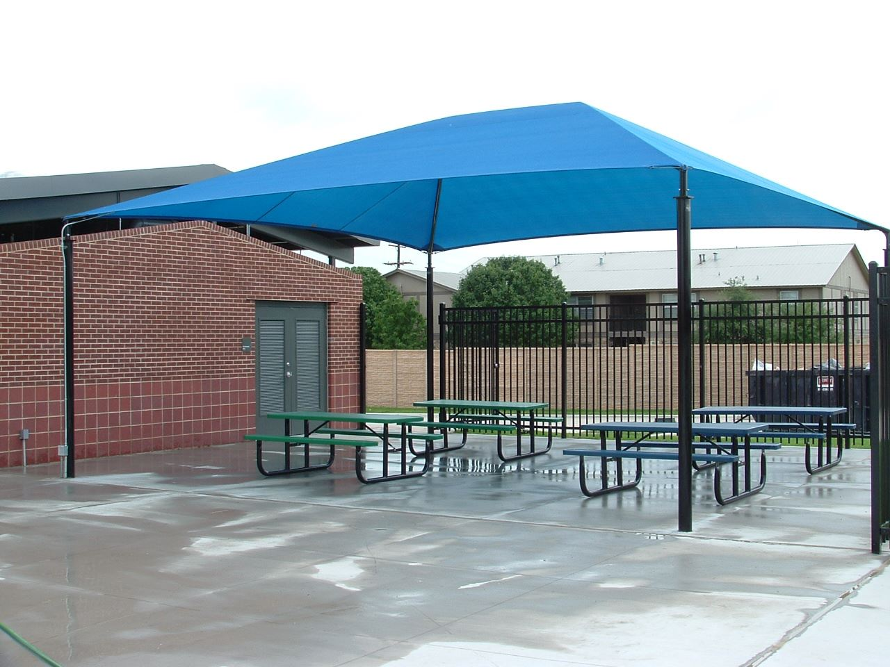 Pavilion rentals saginaw tx official website for Pavilion cost per square foot