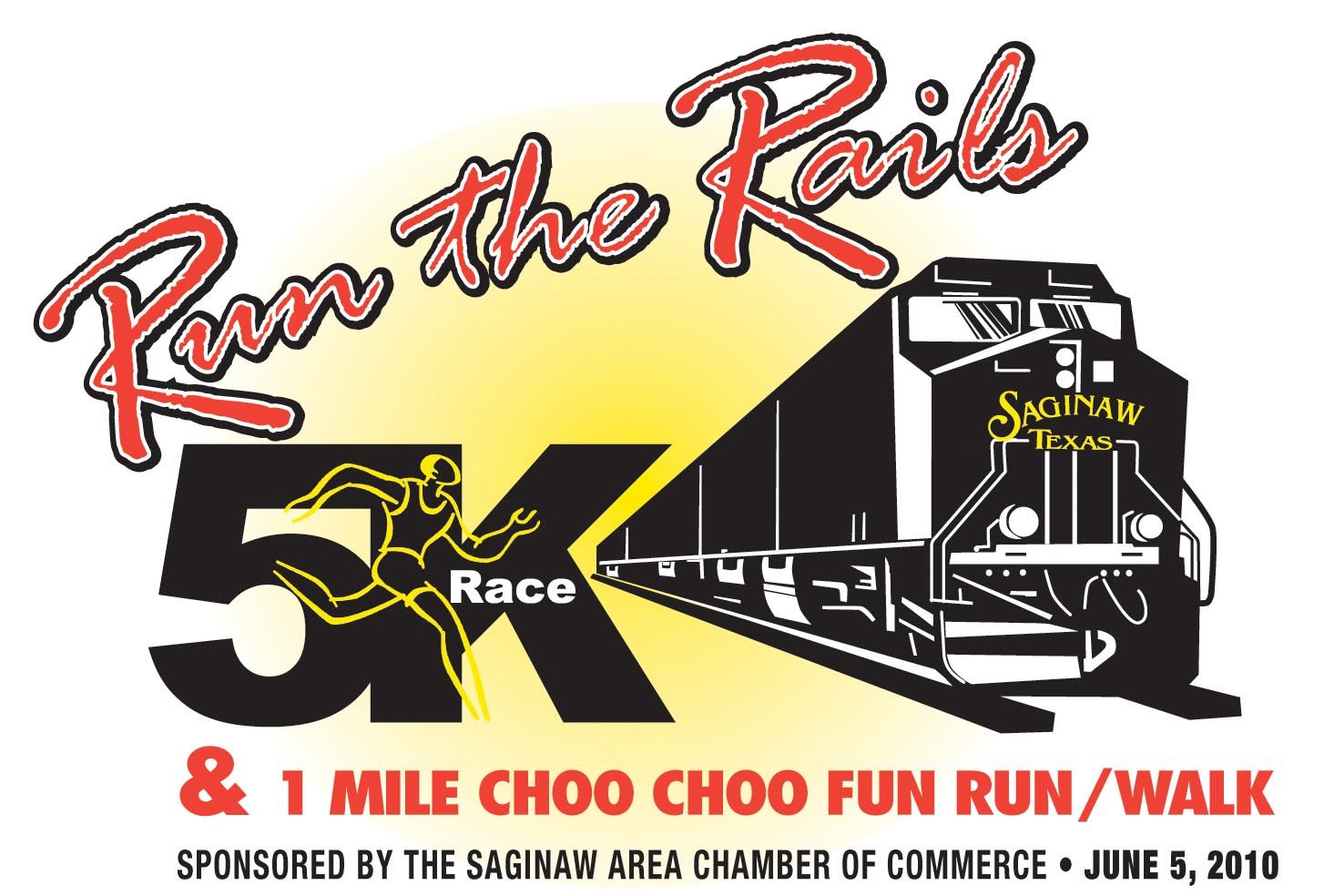 Run the Rails logo