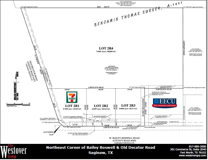 NEC Bailey Boswell and Old Decatur Rd - Lot 2R4